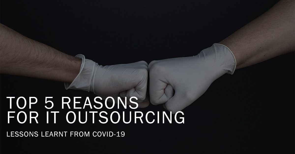 Top 5 reasons for IT outsourcing